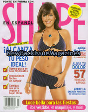 Spanish Shape 1/05,Alicia Machado,January 2005,NEW