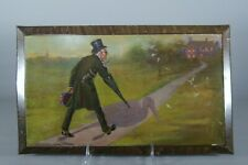 Antique Anheuser Busch Dr. Stork Lithographed Tin Advertising Sign