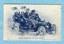 "A5326  Postcard Lownbury ""Billy Possum To The Front""  Billy Possum, Uncle Sam"