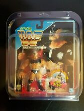 WWF Hasbro MOC THE WARLORD SIGNED Autographed Figure WWE RETRO WRESTLING VINTAGE