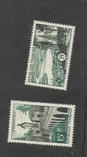 France Sc 837 and 838 MNH. 1957 Scenic Views, fresh