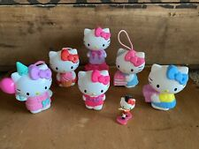 7 Piece Hello Kitty McDonalds Candy Container Paper Punch Sanrio