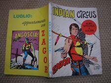 ZAGOR ZENITH 135 INDIAN CIRCUS ORIGINALE GIUGNO 1972