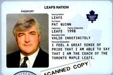 """PAT QUINN Design Souvenir """"Passport"""" Ticket -Toronto Maple Leafs Play-offs 2004."""