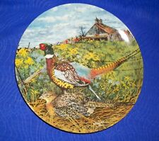 The Pheasant(1986 Edwin M. Knowles Collectors Plate)Wayne Anderson Upland Bird