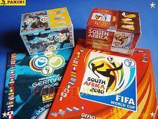 Panini★WM World Cup 2006 2010★2x Box/display OVP/sealed + 2x Leeralbum 2006-2010