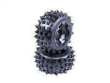 Wheel Tire Set of 2pcs Knobby Nail for 1/5 HPI Baja 5B