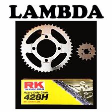 Chain  Sprocket Kit for '99 on Honda CT110 Posties - 15T Front - Std - RK JT