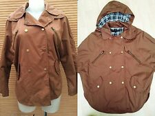 new NEXT Size 6-8 country styled showerproof jacket, ,£50, women's brown Coat
