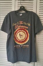 Stevie Wonder 2014 Concert Tour T Shirt, Songs In the Key of Life- Braille