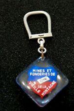 Porte Clé Bourbon Mines et Fonderies de la Vieille Montagne Zinc  - Key ring