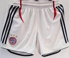 BAYERN MUNICH FOOTBALL SHORTS AWAY ADIDAS SIZE S GERMANY WHITE BUNDESLIGA 054886