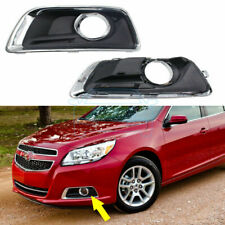 Pair OEM Daytime Day Fog Lights Cover Bezel set For Chevrolet Malibu 2012-2014