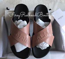 Balmain Slides / Sandals / Mules - Powder / Nude - Size 38 - BNWT!