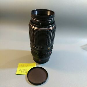Lens Objectif Pentax-M Macro 1:4 100mm SMC +Adaptateur PK-FX ( Fujifilm X )