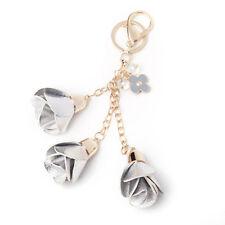 Tassel Key Ring Chain Faux Leather Ladies Handbag Charming Pendant Bag Decor