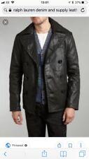 Ralph Lauren Denim Supply Men's Leather comme caban. Brand NEW Small