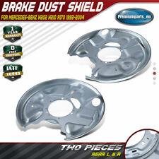 Brake Discs 290mm Solid Mercedes-Benz E-Class E 300 Turbo D Rear Brake Pads