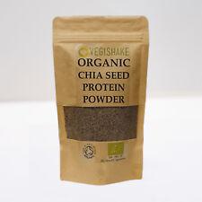 Organic Vegan Chia Seed Protein BCAA Powder 30g Indig Linden Max Strength