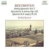 Brand New SEALED Naxos CD - Beethoven : String Quartets Vol. 7