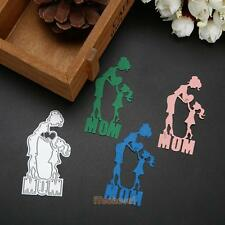 Heart Mother Cutting Die Decor Carbon Steel Craft Scrapbook Embossing Card Decor