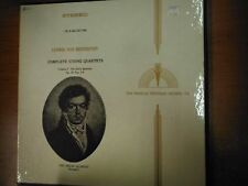 33 RPM Vinyl Beethoven Complete String Quartets Vol 1 MHS Records Stereo031915SM