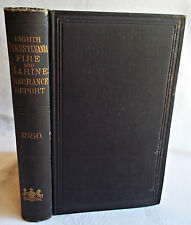 Eighth Annual Report of the Insurance Commissioner Pennsylvania 1880 Fire Marine