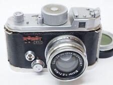 Robot Star 35mm Camera & Carl Zeiss Biotar 4cm F2 Lens with Case. Stock No U9311
