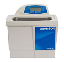 Branson CPX3800H Ultrasonic Cleaner Digital Timer, Heater, Degas, & Temp Monitor