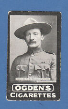 MILITARY  -  OGDENS  -  EXTREMELY  RARE  GENERAL  BADEN - POWELL  CARD  -  1901