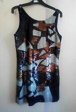 Wayne Cooper sequin dress vgc FREE POST size 10