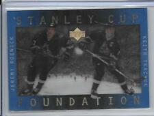 96-97 UPPER DECK STANLEY CUP FOUNDATIONS JEREMY ROENICK KEITH TKACHUK COYOTES