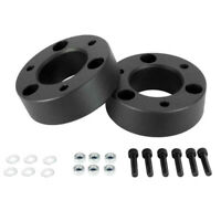 "Black Front 2.5/"" Rear Add-a-Leaf 2/"" Lift Kit For Nissan Titan 04-15 2WD 4WD"