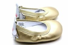Rosie Pope Kids Footwear Prewalker Angel Wings Crib Shoe Gold 6-9 Months