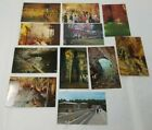 Vintage Mammoth Cave, Kentucky Postcards lot of 11 Views