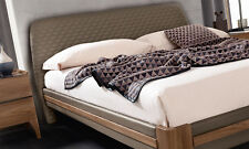Modernes Bett Futonbett Schlafzimmer Bettgestell Eco-Leder Polsterung Stil Italy