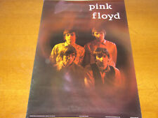 PINK FLOYD - 1986 PERSONALITY POSTER - ORIGINAL LINE-UP WITH SYD BARRETT