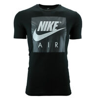 Nike Men's Air Graphic T-Shirt Black/Grey M