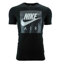 Nike Men's Air Graphic T-Shirt Black/Grey M