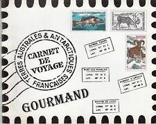 """CARNET DE VOYAGE TERRES AUSTRALES ET ANTARCTIQUES FRANCAISES """"CARNET GOURMAND"""""""