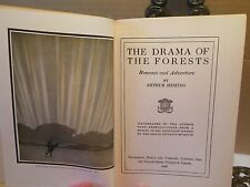 SIGNED Drama of the Forests by Artist Author Arthur Heming  Fur Trade Era