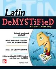 Latin Demystified: A Self Teaching Guide de Richard Prior Livre de poche 978