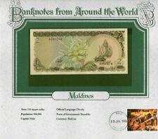 World Banknotes Maldives 2 Rufiyaa 1983 P 9 UNC