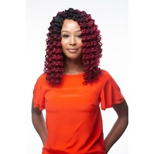 """Obsession Short Curly Synthetic Hair Crochet Braid Extensions - Deep Twist 14"""""""