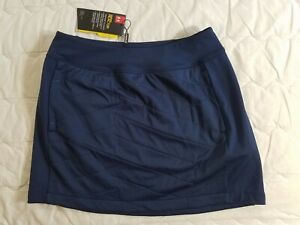 1 NWT UNDER ARMOUR WOMEN'S SKIRT, SIZE: SMALL, COLOR: NAVY (J71)