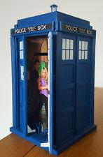 Dr Who - Police Tardis Coin Money Box - David Tennant - Lights & Sound - BBC Dr