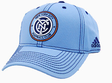 New York City Football Club adidas VR78Z MLS Sweep Soccer Team  NYC FC Cap Hat
