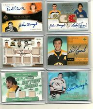 JOHNNY BUCYK auto */50* AUTOGRAPH the CUP ud STANLEY SIGNATURES BOSTON BRUINS