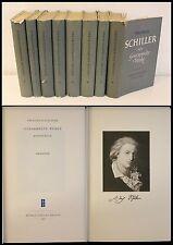 Para Schiller- Recogidos Obras 8 Volúmenes 1954/55- Gedichte Dramas De Filosofía