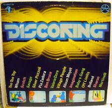 DISCORING COMPILATION - LP - Wham, Valerie Dore, Martinelli, Village People